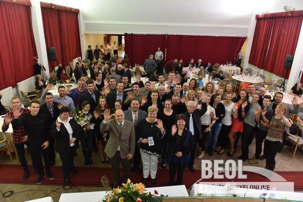 A díjazottak (Fotó: Imre György - BEOL.hu)