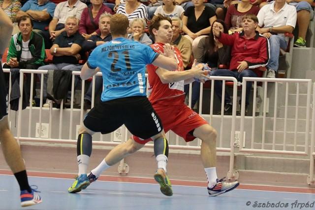 Antal Szabolcs támadásban és védekezésben is erősítést jelenthet (Fotó: Szabados Árpád)