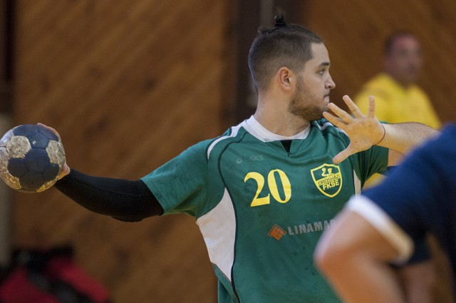 Simon Tibor Boldizsár 10 góllal vette ki részét a győzelemből (Fotó: Domján Róbert)