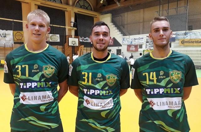 A három fiatal - Mihály, Zvolenszki és Zalai - kiválóan helytállt a világsztárok ellen (Fotó: Zsedényi Péter - OFKSE.hu)