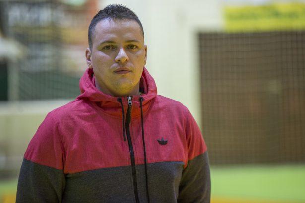 Az új edző nagy lelkesedéssel látott munkához (fotó: Rosta Tibor)