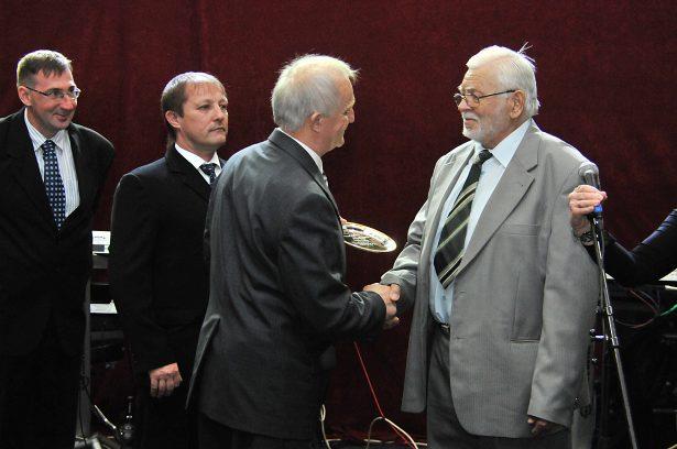 Az idei életműdíjat Szula Antal vehette át (Fotó: Rajki Judit)